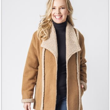 Alpine Ladies Alpaca Coat