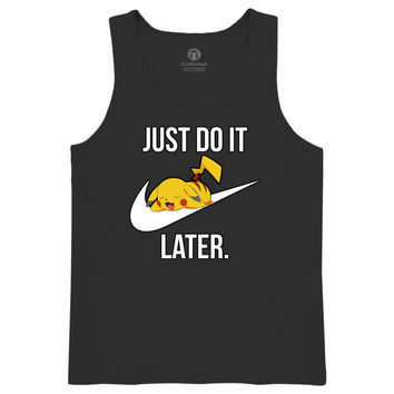 Just Do It Later Kids Tank Top