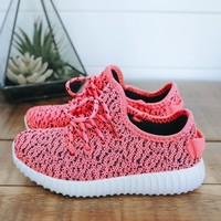 Girls Featherweight Sneakers - Hot Pink