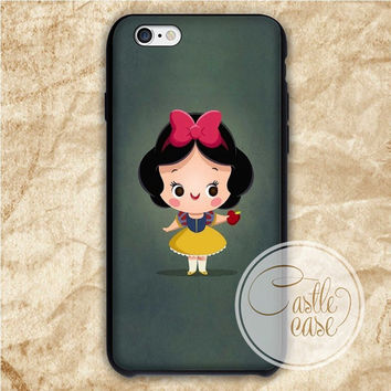 Snow White Cute Disney Princess Fairy Tail iPhone 4/4S, 5/5S, 5C Series Hard Plastic Case