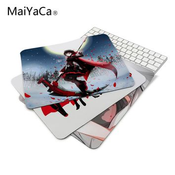 Moon RWBY Ruby Rose anime Amines Mouse Pad Computer Gaming Mouse Pad 180mmX220mmx2mm Gamer Mouse Mats