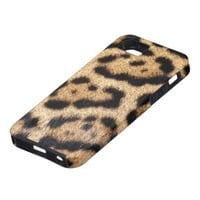 Jaguar Fur Photo Print iPhone 5 Case