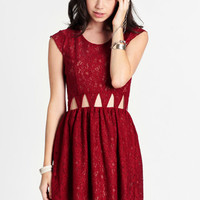 Friday Night Cutout Dress By Lovers + Friends - $167.00: ThreadSence, Women's Indie & Bohemian Clothing, Dresses, & Accessories