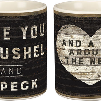 Love You A Bushel And A Peck And A Hug Around The Neck - 20-oz. Coffee Mug