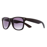River Island Womens Dark brown retro sunglasses