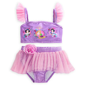 Disney Princess Deluxe Swimsuit for Girls - 2-Piece | Disney Store