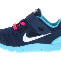 Nike Kids Free Run 5.0 (TDV) (Infant/Toddler) Black/Fusion Pink/Metallic Silver - Zappos.com Free Shipping BOTH Ways