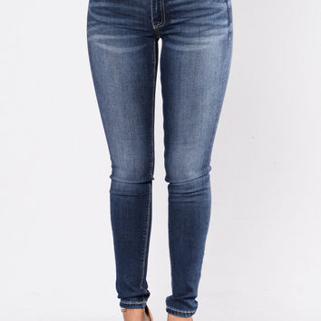 Epic Proportions Jeans - Dark Blue