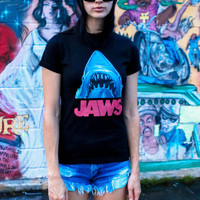 Vintage JAWS Tee / 70s T-Shirt