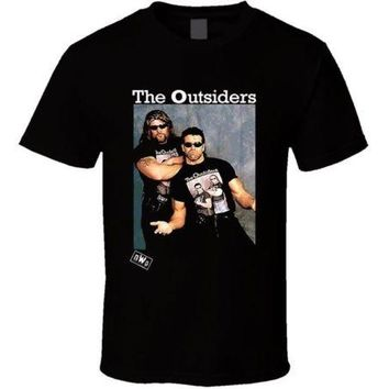 The Outsiders NWO New World Order Wrestling T Shirt