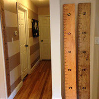 Wooden Ruler Growth Chart Already Made- Not A DIY Decal!