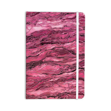 "Ebi Emporium ""Marble Idea! - Coral Pink"" Magenta Painting Everything Notebook"