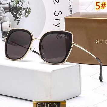 GUCCI Fashion New Polarized Women Sunscreen Leisure Travel Eyeglasses Glasses