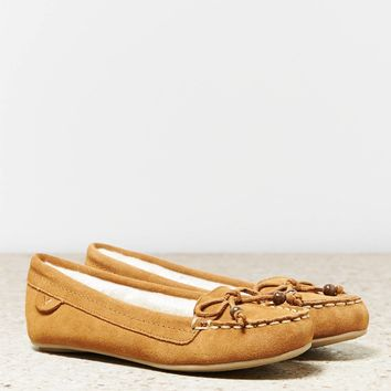 AEO Bow Moccasin | American Eagle Outfitters