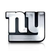 NFL New York Giants 3d Chrome Car Emblem