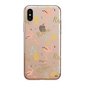 Rela8 - iPhone Clear Case
