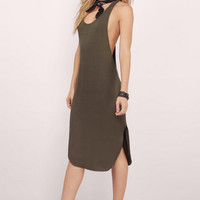 Play No Games Midi Dress $34