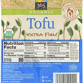 365 Everyday Value, Organic Tofu Extra Firm, 14 oz