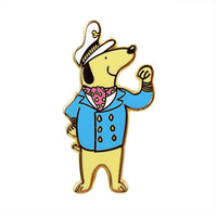 Captain Pup Pin
