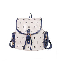 Totem Navy Fashion Little Anchor Backpack