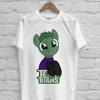 Teen Titans Go! Beast Boy Pony T-shirt Men, Women Youth and Toddler