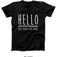 Adele Hello From The Other Side Mens T Shirt