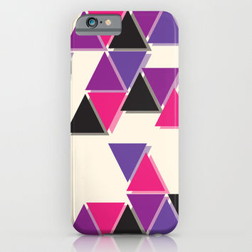 Triangle Tiles iPhone & iPod Case by Goodnightgracie