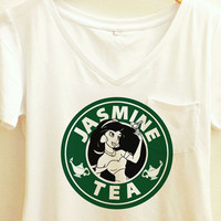 Jasmine Tea Coffee Shirt | Disney Aladdin