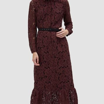 Ganni / Jerome Lace Maxi Dress