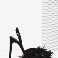 Jeffrey Campbell Pajaro Feather Heel