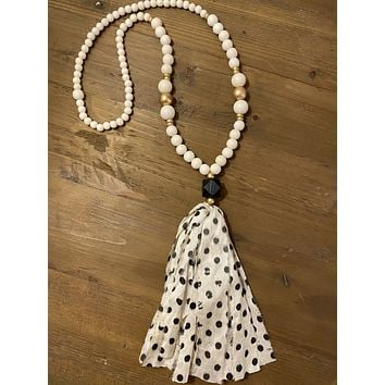 The Nina Tassel Necklace