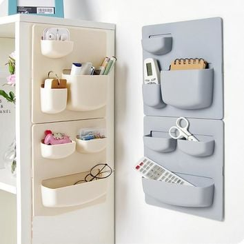 Plastic Suction Cup Wall Storage Rack