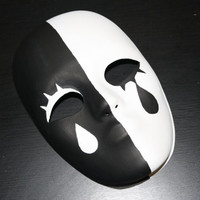 Vocaloid Poker Face Mask