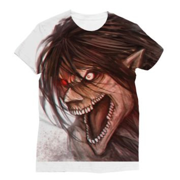 Attack On Titan Shirt Sublimation T-Shirt