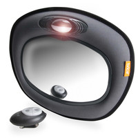 Brica Day & Night Light Musical Auto Mirror