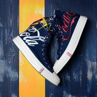 KITH Coca-Cola x Converse Chuck Taylor 1970S Navy Blue 162988C - Best Deal Online