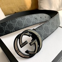 GUCCI New personality wild mesh double G buckle belt