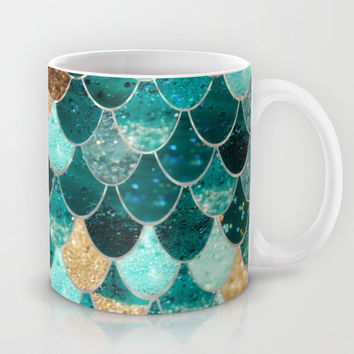 REALLY MERMAID Mug by Monika Strigel