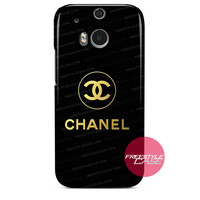 Chanel Gold Logo HTC One Case M9 M8 One X Cover