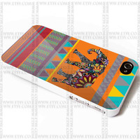 Elepant Aztec - iPhone Case 4/4S, 5/5S, 5C and Samsung Galaxy S3, S4 Case.