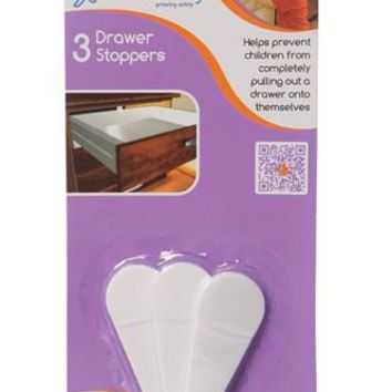 Dreambaby Child Safety Cabinet Drawer Stoppers - 3 pack