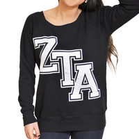 Zeta Tau Alpha - College Footed Pajamas - from JumpinJammerz 60dd28c25
