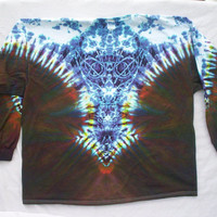 Celtic Tribe Tie Dye Long Sleeve Size XL