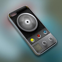 BuTum - Star Trek Communicator - Cell Phone Custom - iPhone 4 4s 5 5s 5c, Samsung S3 S4