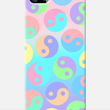 Ying Yang Pastel iPhone Case