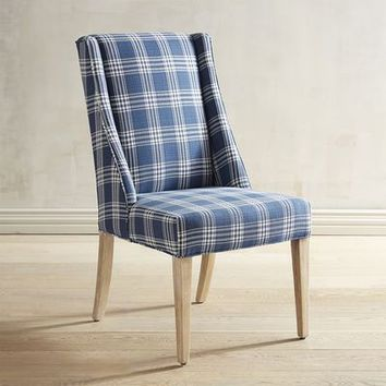 Owen Hearth Navy Dining Chair