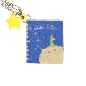The Little Prince Book Necklace