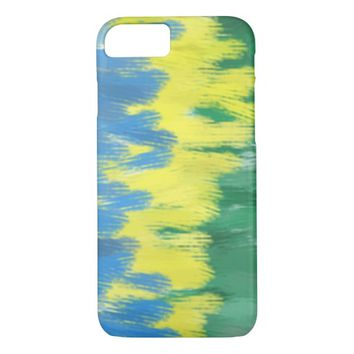 Brazil Colors Art iPhone Case