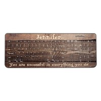 Wood Background Personalized Wireless Keyboard
