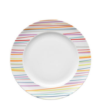 Rosenthal Thomas Sunny Day Sunny Stripes Dinner Plate, 10.5 inch